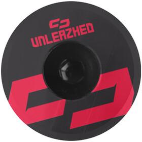 UNLEAZHED Unloose AL01 Aluminium Top Cap red